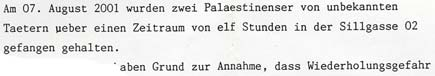From the file of the Staatsanwaltschaft Innsbruck
