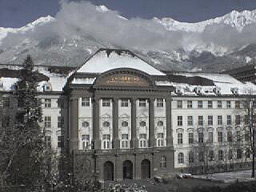 Young students at the University of Innsbruck frightened by the